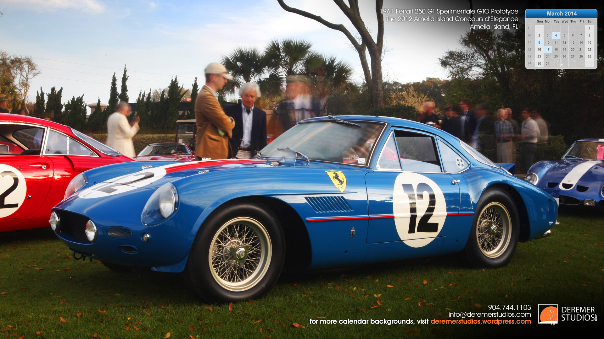 2014 03 March Wallpaper - 1961 Ferarri 250 GT Prototype
