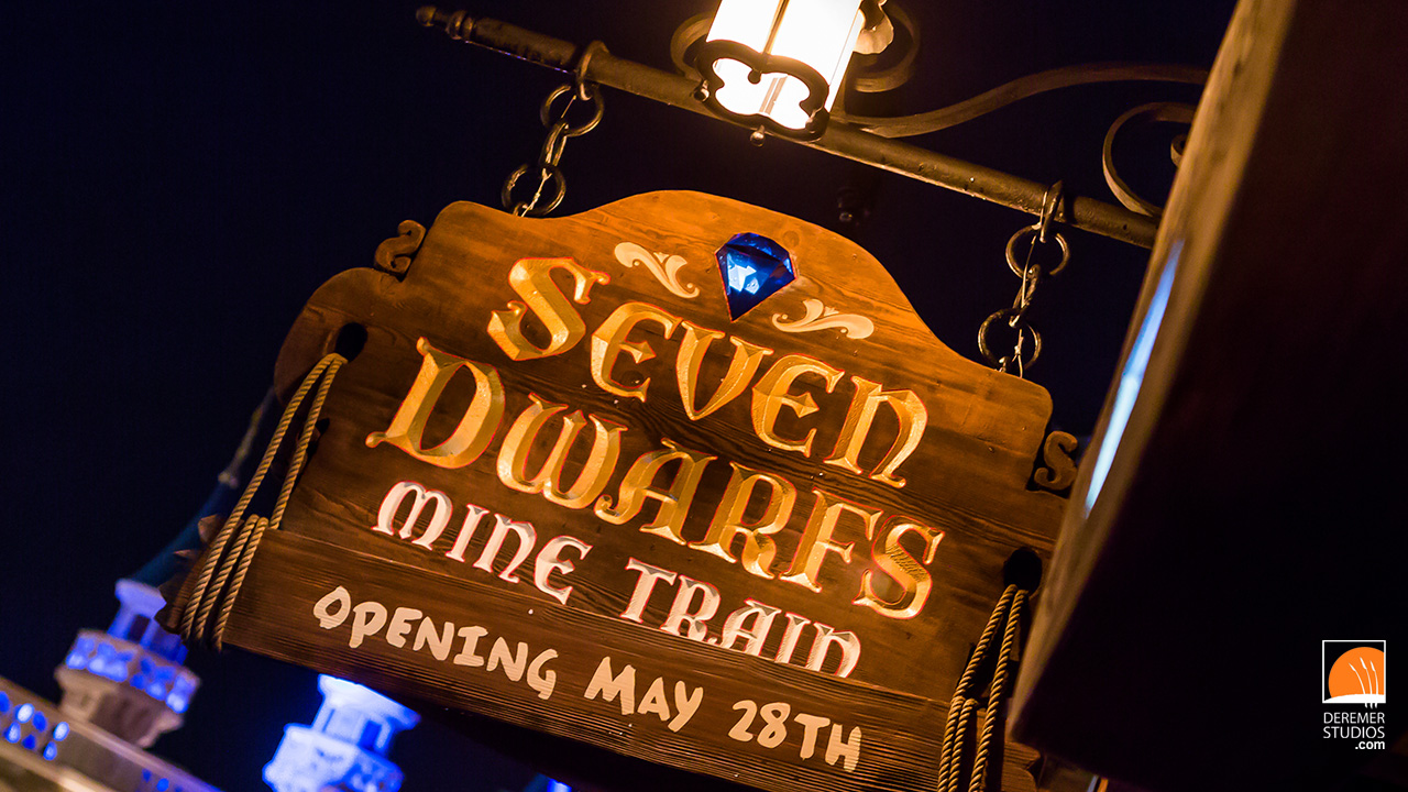 2014 05 Fine Art - Disney Seven Dwarfs Mine Train 01 Sneak Peek