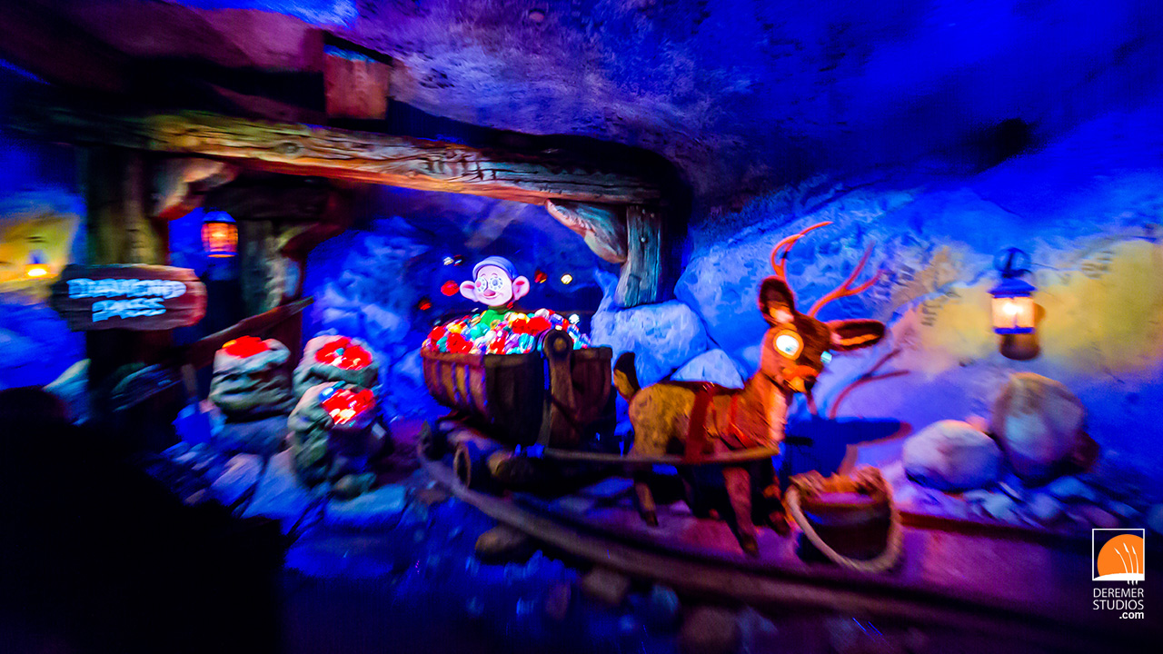 2014 05 Fine Art - Disney Seven Dwarfs Mine Train 21 Sneak Peek Night Ride